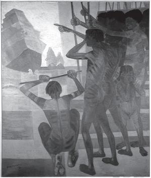 PORTINARI, C. O descobrimento do Brasil: 1956. Óleo sobre tela, 199 x 169 cm. Disponível em: www.portinari.org.br. Acesso em: 12 jun. 2013.