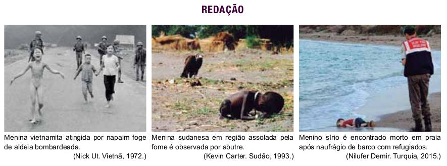 Imagens da Proposta de Redação da Unesp. Foto: Reprodução.