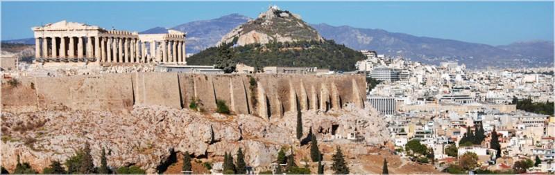 Vista da Cidade de Atenas.  Imagem: Reprodução/turismogrecia.info