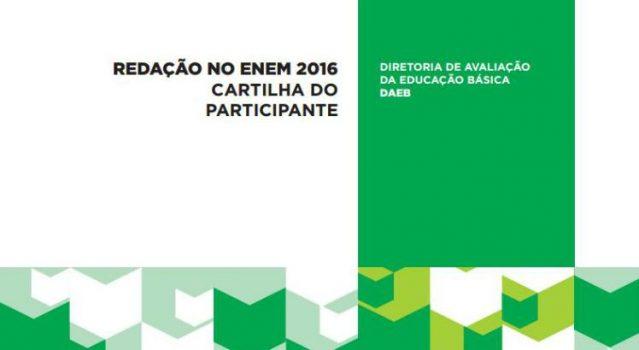 Imagem: Reprodução / Capa da Cartilha do Participante.