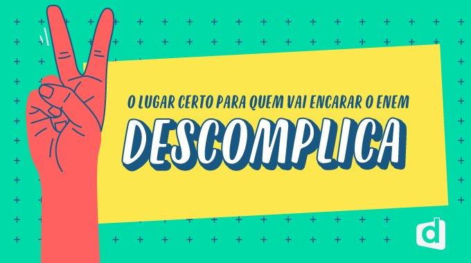 Super Promoção! Estude Online Para o Enem 2018 no Descomplica