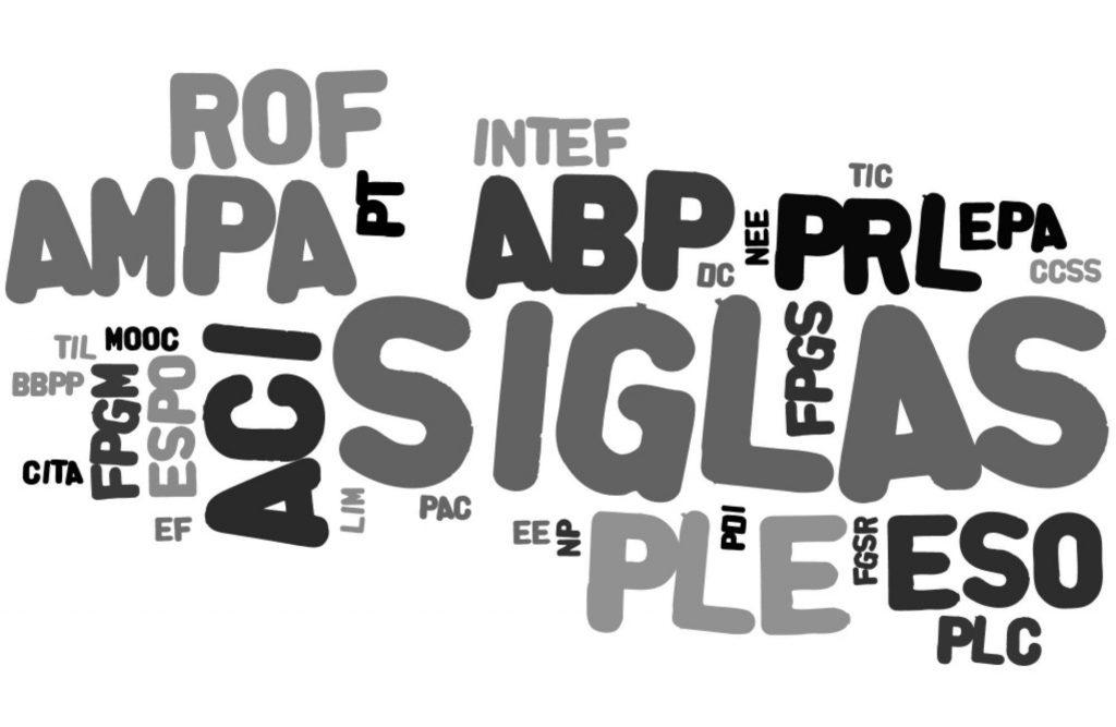 Siglas e formação de palavras