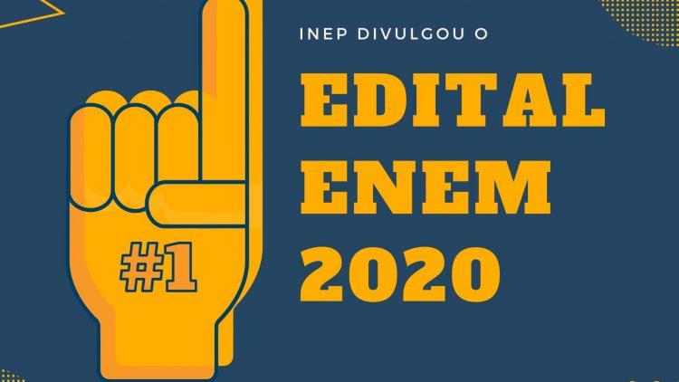 Principais informações do edital do Enem 2020